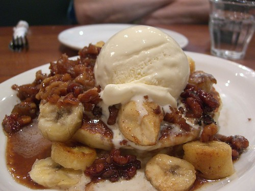 The It Pancake - Hot Buttered Walnuts and Banana - The Pancake Parlour Chadstone AUD16.10