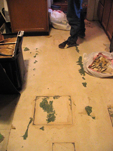 Our kitchen floor at the moment | Flickr - Photo Sharing!