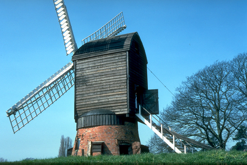Danzey Green Windmill at Avoncroft Museum of Buildings
