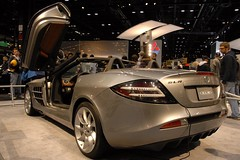 automobile, exhibition, vehicle, automotive design, mercedes-benz, auto show, mercedes-benz slr mclaren, land vehicle, luxury vehicle, supercar, sports car,