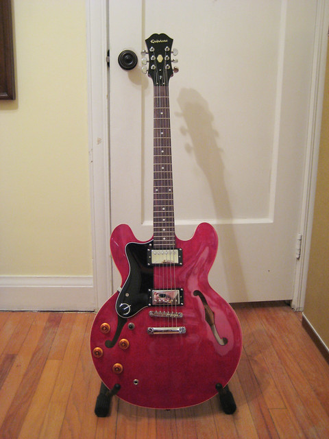 Photo:Red Guitar By Numinosity by Gary J Wood