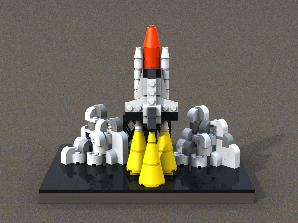 lego space shuttle speed build - photo #28