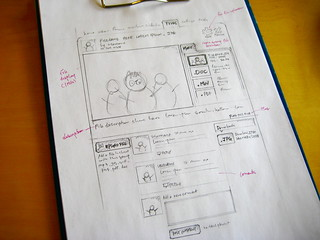 sketch: vimeo groups file page ideas