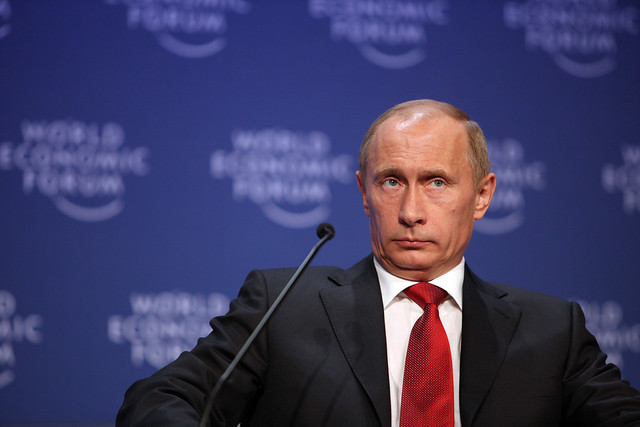 Vladimir Putin - World Economic Forum Annual Meeting Davos 2009