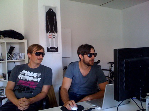 Our developers are too cool to not wear sunglasses!