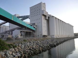 Port Lincoln SA Grain Silos