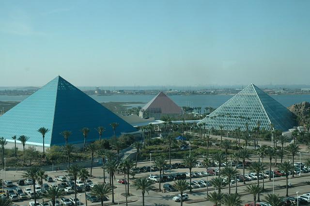 Pyramids At Moody Gardens Galveston April 2009 Flickr