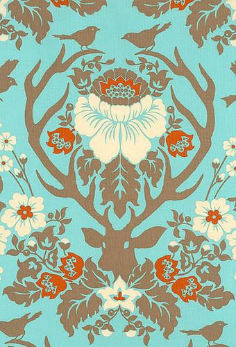 wallpaper deer damask - photo #18