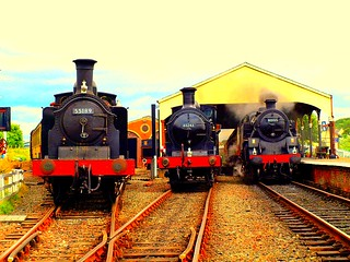 SRPS Bo'ness Steam Locos.