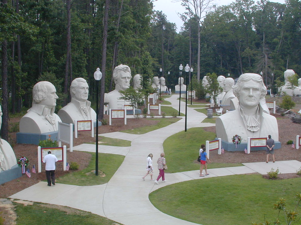 Presidents Park, Williamsburg, VA, 2005
