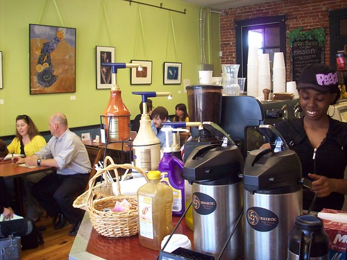 Urban Studio Cafe, St. Louis (courtesy of Old North St Louis Restoration Group)
