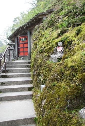 石見銀山 五百羅漢の入り口