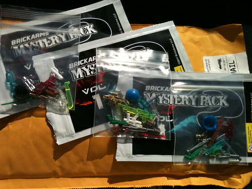 BrickArms mystery packs review