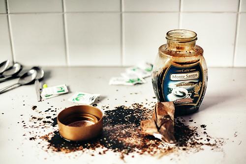 วิธีแก้กาแฟในขวดซื้น