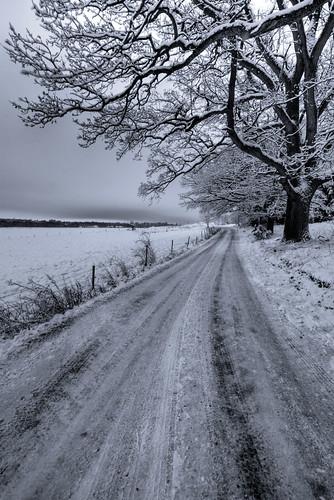 road winter snow landscape sweden sverige hdr götakanal östergötland sigma1020mmf456exdchsm brunneby johanklovsjö