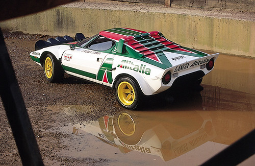 Lancia Stratos in the Quarry