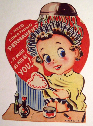 Vintage Valentine's Day Card by riptheskull