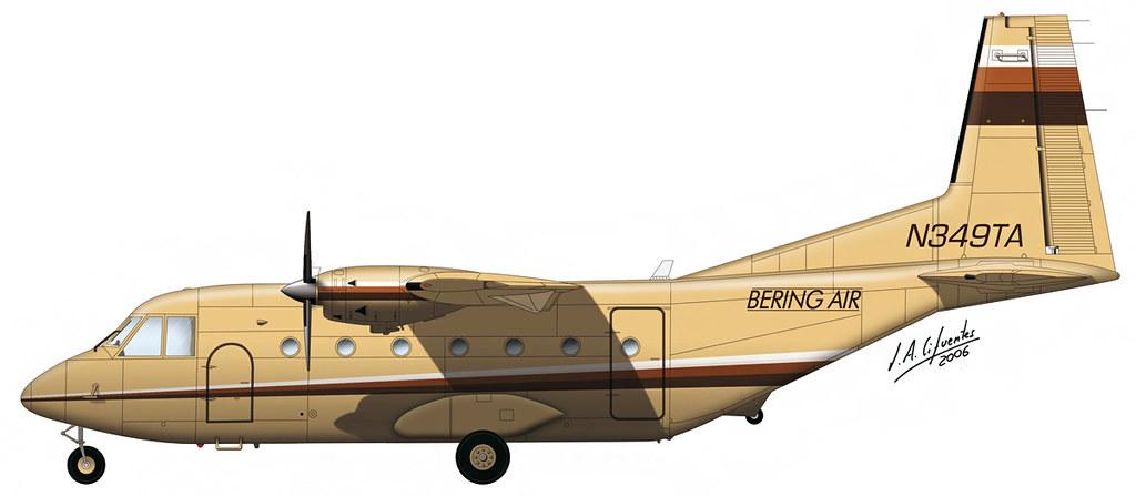 CASA C-212 Bering Air