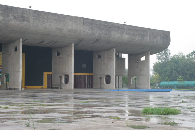 Assembly Hall after Rain XI