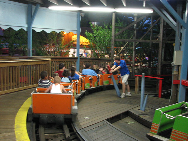 Roller Coaster Lever : Waldameer park manual levers