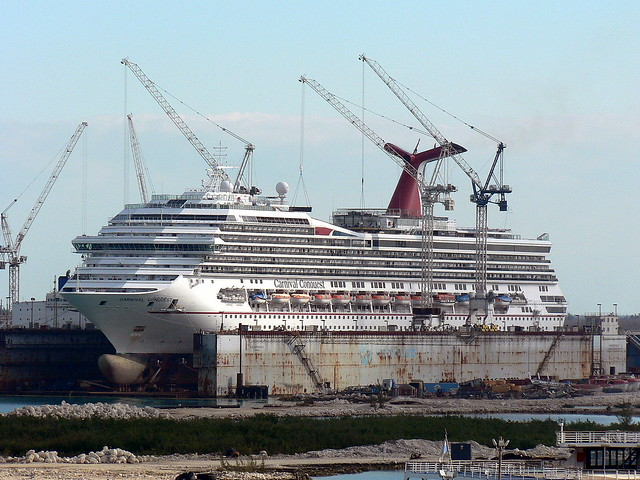 Carnival Cruise Ship Dry Dock | Detland.com