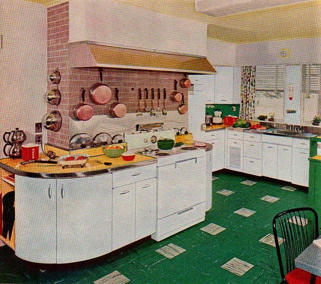 Kitchen Chimney Interior Design: Kitchen With Brick Chimney