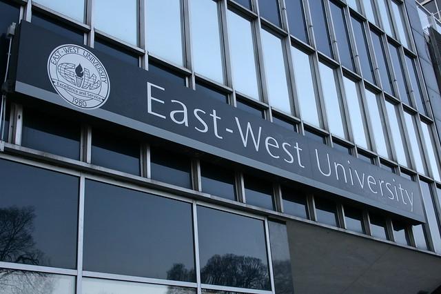 East west university department of