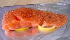 salmon, fish, lox, food, smoked salmon,