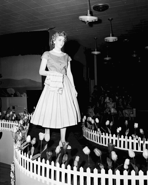 March 1956 Gentrics Fashion Show