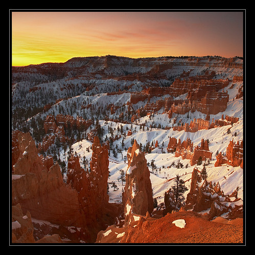 Sunrise on Bryce Canyon