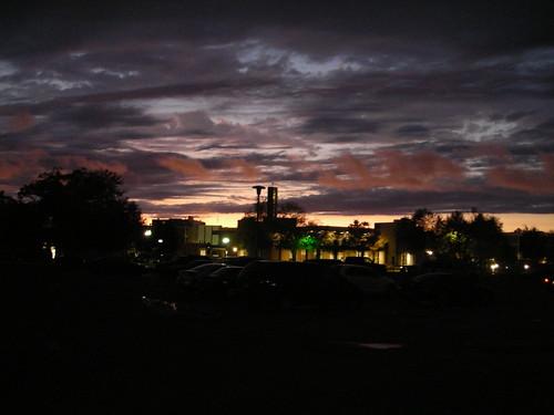 light sunset sky color college weather clouds campus evening university monroe 2008 ulm universityoflouisianaatmonroe