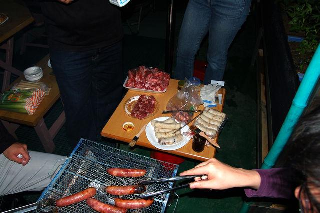 2009.04.18 W 友人家烤肉