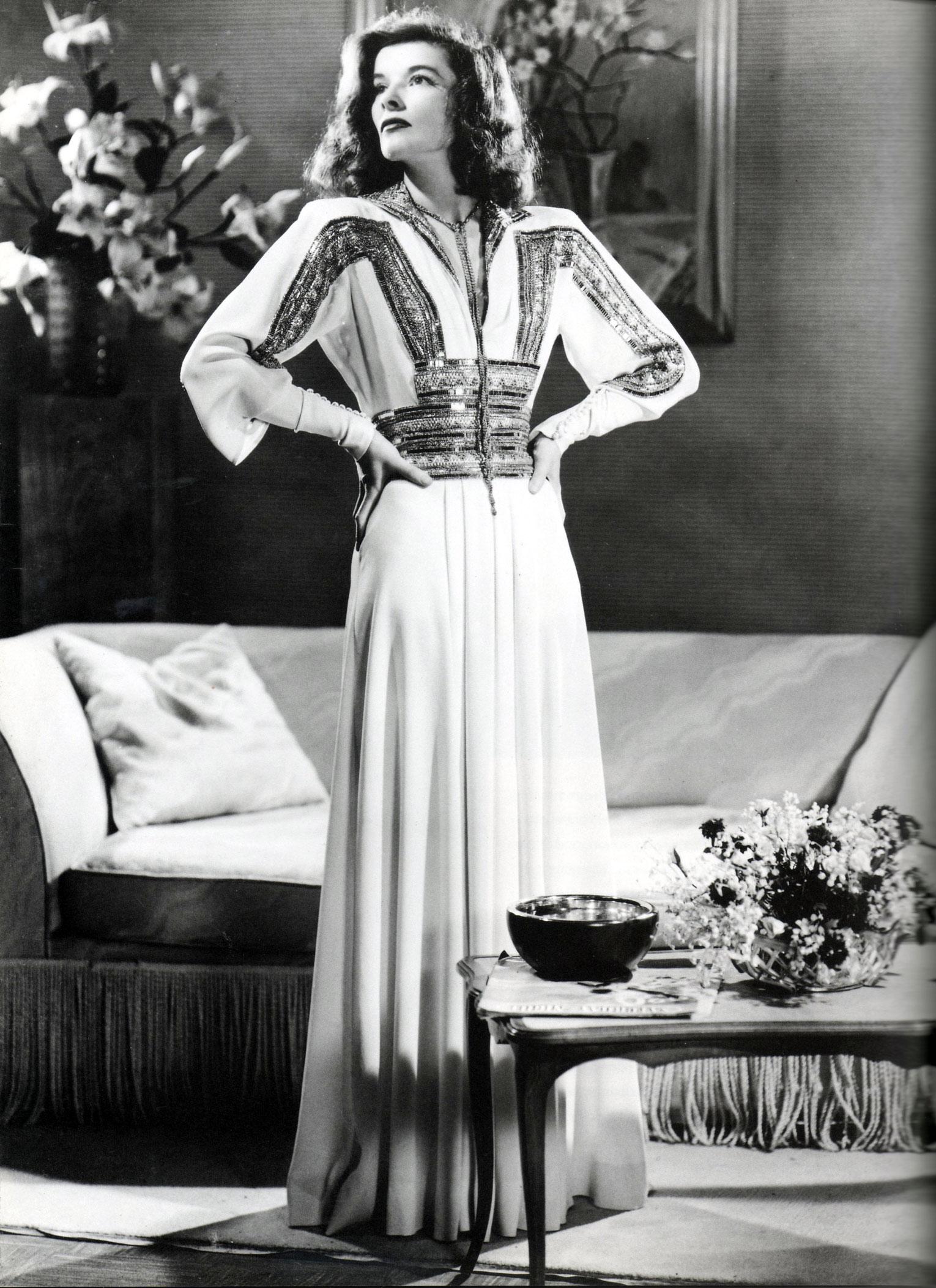 """Katharine Hepburn in """"The Philadelphia Story"""", 1940"""
