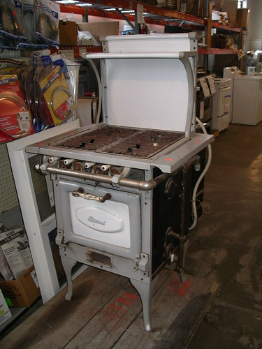 Antique Gas Stove - Cheap Stove - COLDvsHOT