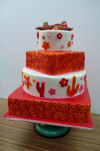 Mexican Themed Wedding Cakes images