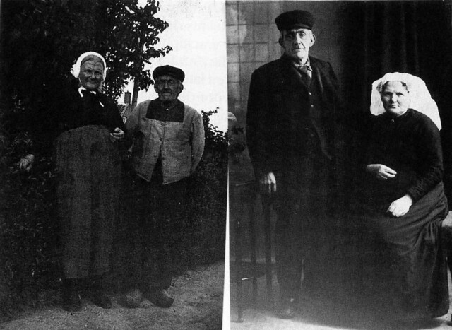 Jacob v.d. Made with his spouse Jannetje Lugtenburg , Middelharnis , Flakkee , Holland , before WW II
