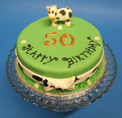50th Birthday Cake on Cow 50th Birthday Cake   Flickr   Photo Sharing