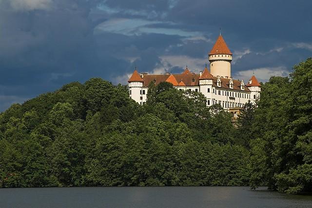 Zámek Konopiště. Czech Republic