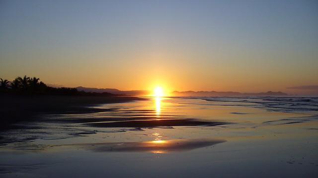 Sunset in Parrita - Costa Rica