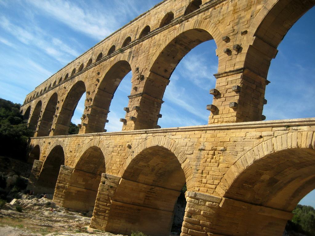 Pont du Gard, Provence France