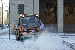 winter, vehicle, transport, snow, snow removal, snowplow,