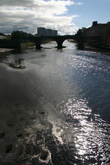 River Ayr (Auld Brig from New Bridge)