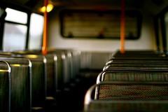 bokeh in bus
