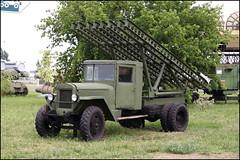 BM-13 'Katyusha' replica.