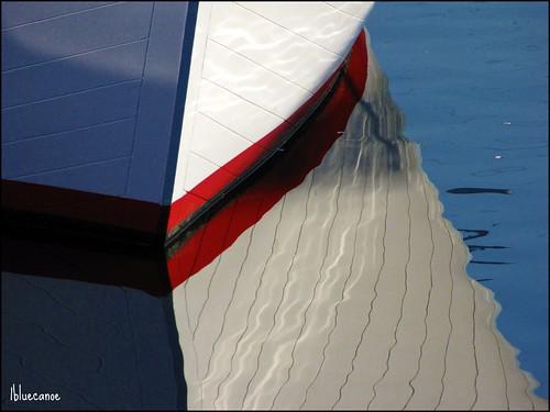 reflection water boat wooden 1bluecanoe infinestyle explorewinnersoftheworld