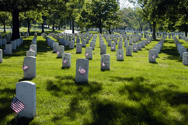 Arlington National Cemetery by CC user soldiersmediacenter on Flickr