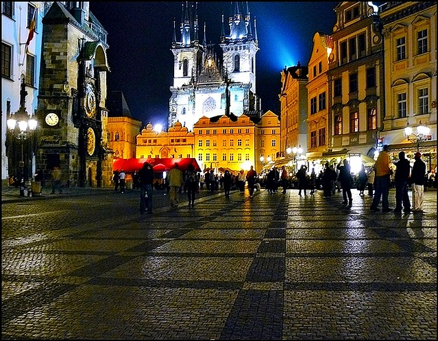 Old Town Square (Staromestske Namesti) Prague