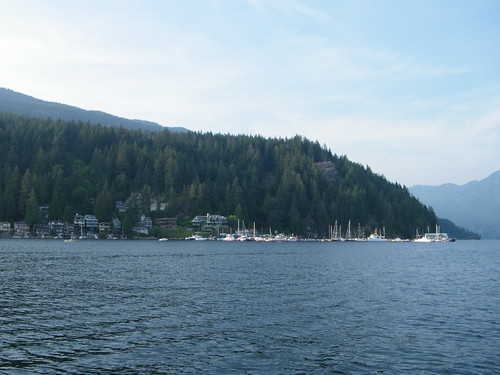 Sailboat Trip up Indian Arm