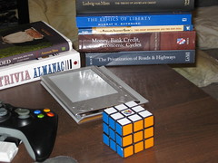Rubik's Cube - Moments Later