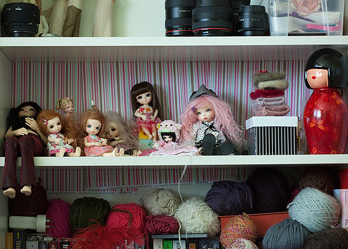 Doll shelf tag